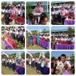กิจกรรมมอบดอกไม้นักเรียน ม.6 จบปีการศึกษา 2557