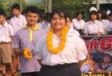 ขอแสดงความยินดีกับประธานนักเรียนโรงเรียนกำแพงคนใหม่  นางสาวกัลช์ฎาภรณ์ ตีระพงษ์