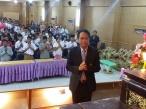 กิจกรรมปฐมนิเทศนักเรียนชั้น ม.1 และ ม.4 ปีการศึกษา 2558