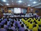 กิจกรรมอบรมแกนนำเยาวชนเพื่อเตรียมความพร้อมเข้าสู่โรงเรียนคุณธรรม