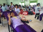 11 พ.ย. 2559 ชาวกำแพงร่วมบริจาคโลหิตกับสภากาชาดไทย