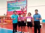 เหรียญทองตะกร้อหญิง กีฬา สพม.28 ปีการศึกษา 2559
