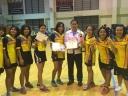 แชมป์แฮนด์บอลหญิง รุ่นไม่เกิน 19 ปี กีฬานักเรียน จ.ศรีสะเกษ ปี 59