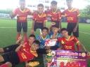 รางวัลรองชนะเลิศอันดับ 2 ฟุตบอล 7 คน กีฬา อบจ.ศรีสะเกษ 59