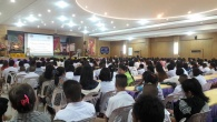 กิจกรรมปฐมนิเทศนักเรียนระดับชั้นม.4 ปีการศึกษา 2559 วันที่ 4 พฤษภาคม 2559