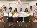 นักเรียนได้รับรางวัลกิจกรรมอ่านฟังเสียง :  ผลงานกลุ่มสาระภาษาไทย